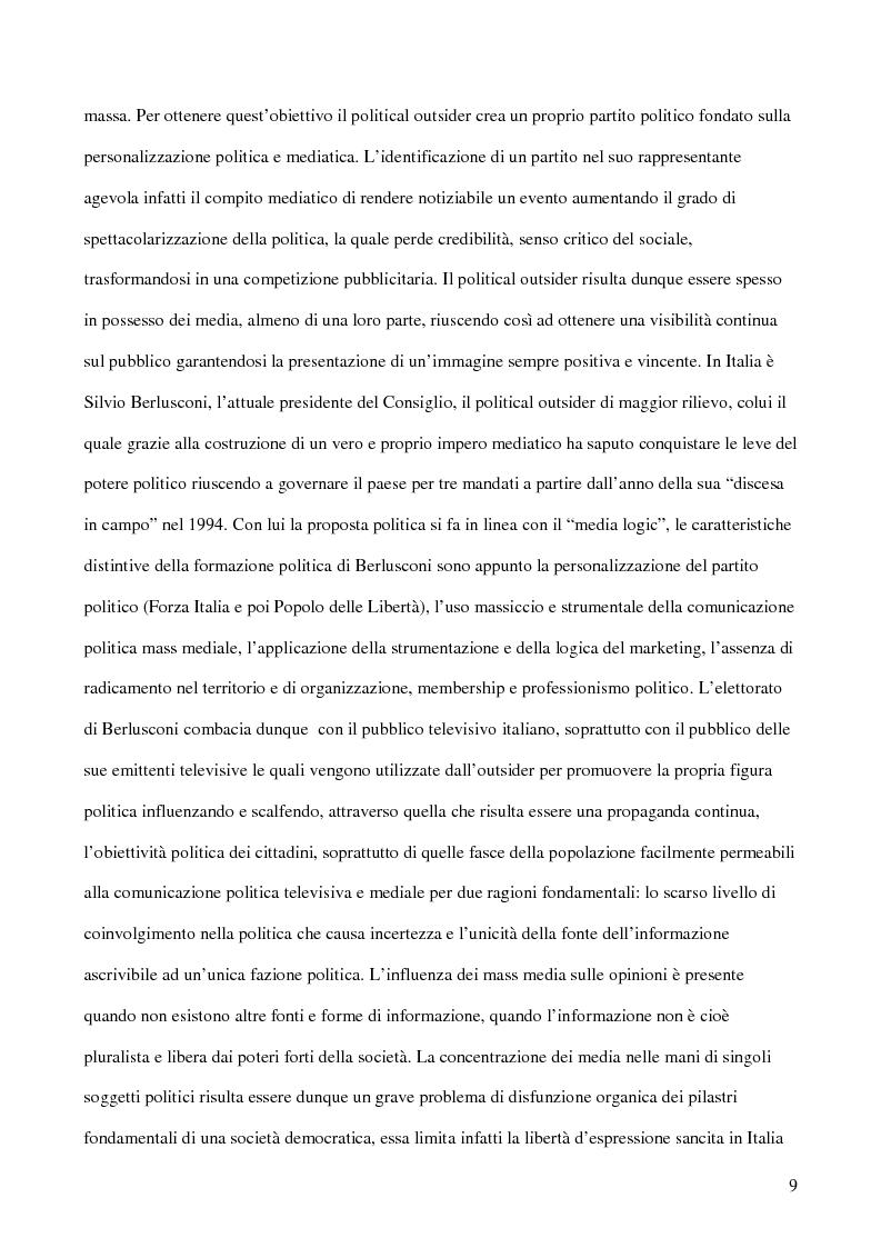 Anteprima della tesi: E-democracy. Tra controllo politico e new media., Pagina 4