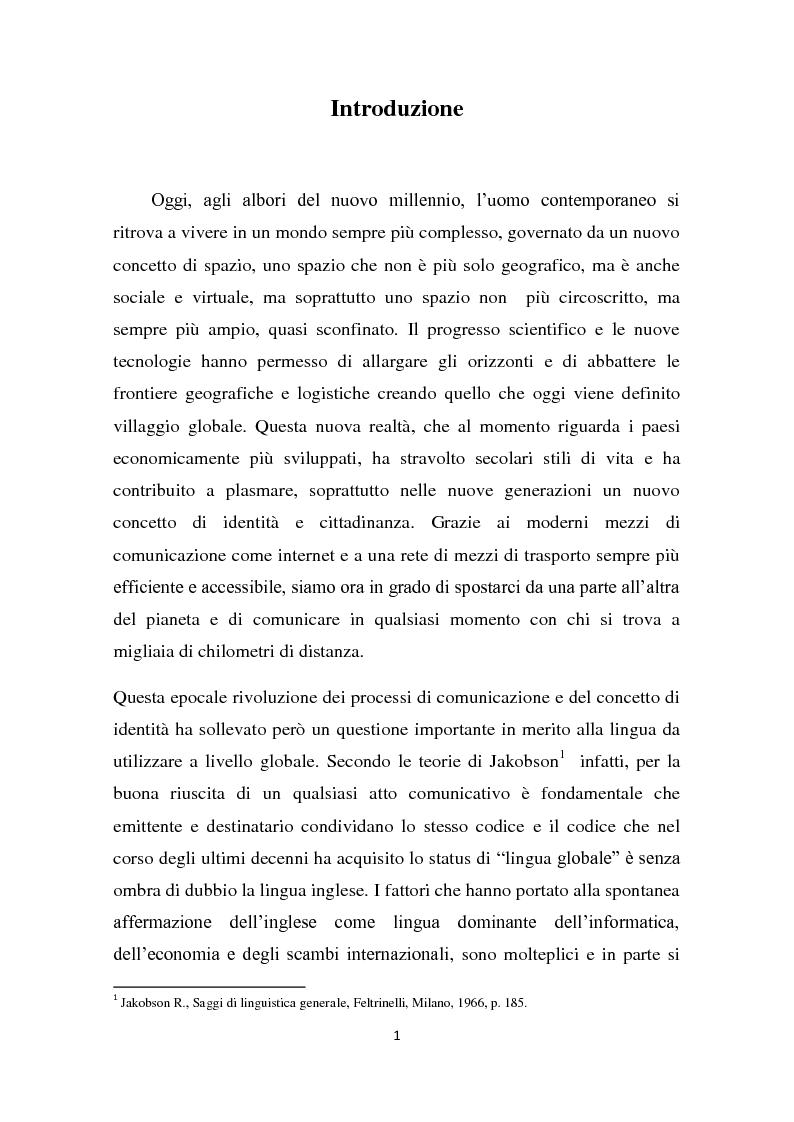 Anteprima della tesi: L'insegnamento della lingua inglese nella scuola primaria attraverso un approccio ludico-comunicativo, Pagina 2