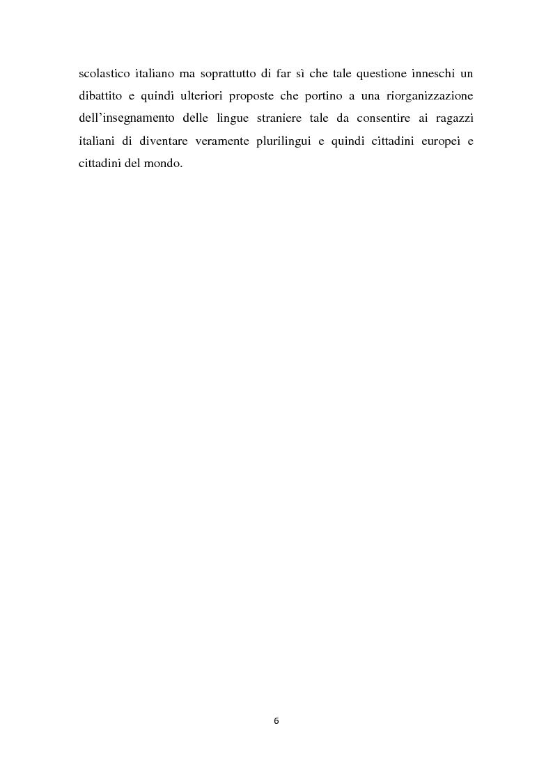 Anteprima della tesi: L'insegnamento della lingua inglese nella scuola primaria attraverso un approccio ludico-comunicativo, Pagina 7