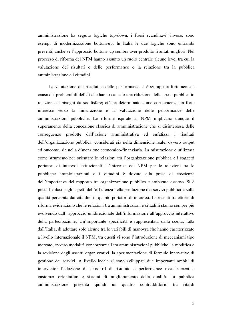 Anteprima della tesi: Il Performance Management nella Pubblica Amministrazione: studio di una metodologia applicata alle Procure della Repubblica, Pagina 10