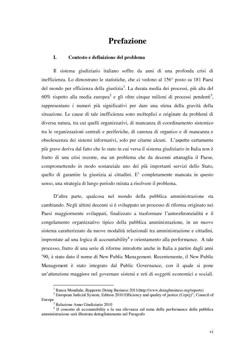 Anteprima della tesi: Il Performance Management nella Pubblica Amministrazione: studio di una metodologia applicata alle Procure della Repubblica, Pagina 2