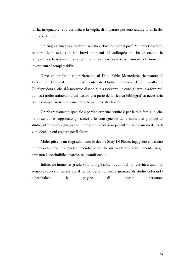 Anteprima della tesi: Il Performance Management nella Pubblica Amministrazione: studio di una metodologia applicata alle Procure della Repubblica, Pagina 7