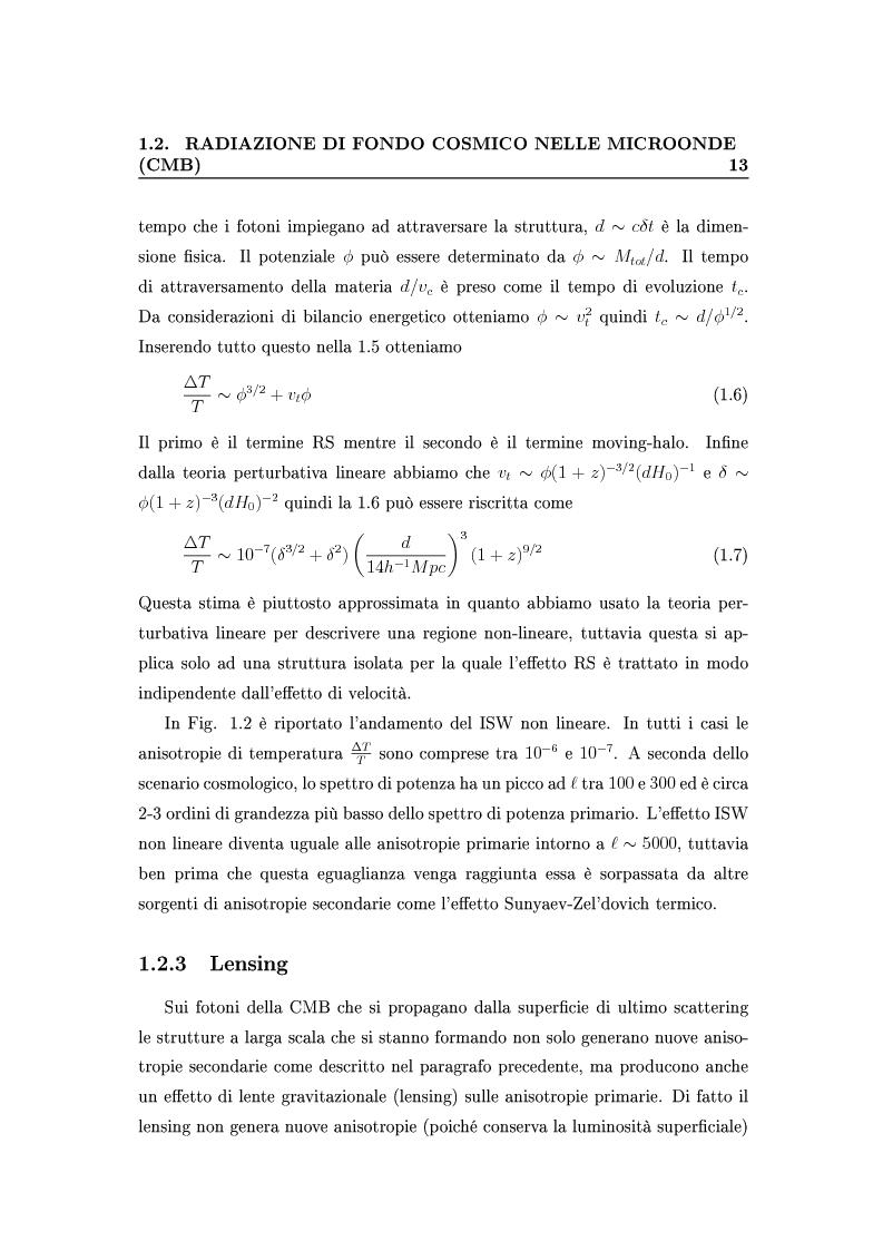 Anteprima della tesi: Cosmologia di precisione con l'Effetto Sunyaev-Zel'dovich, Pagina 10