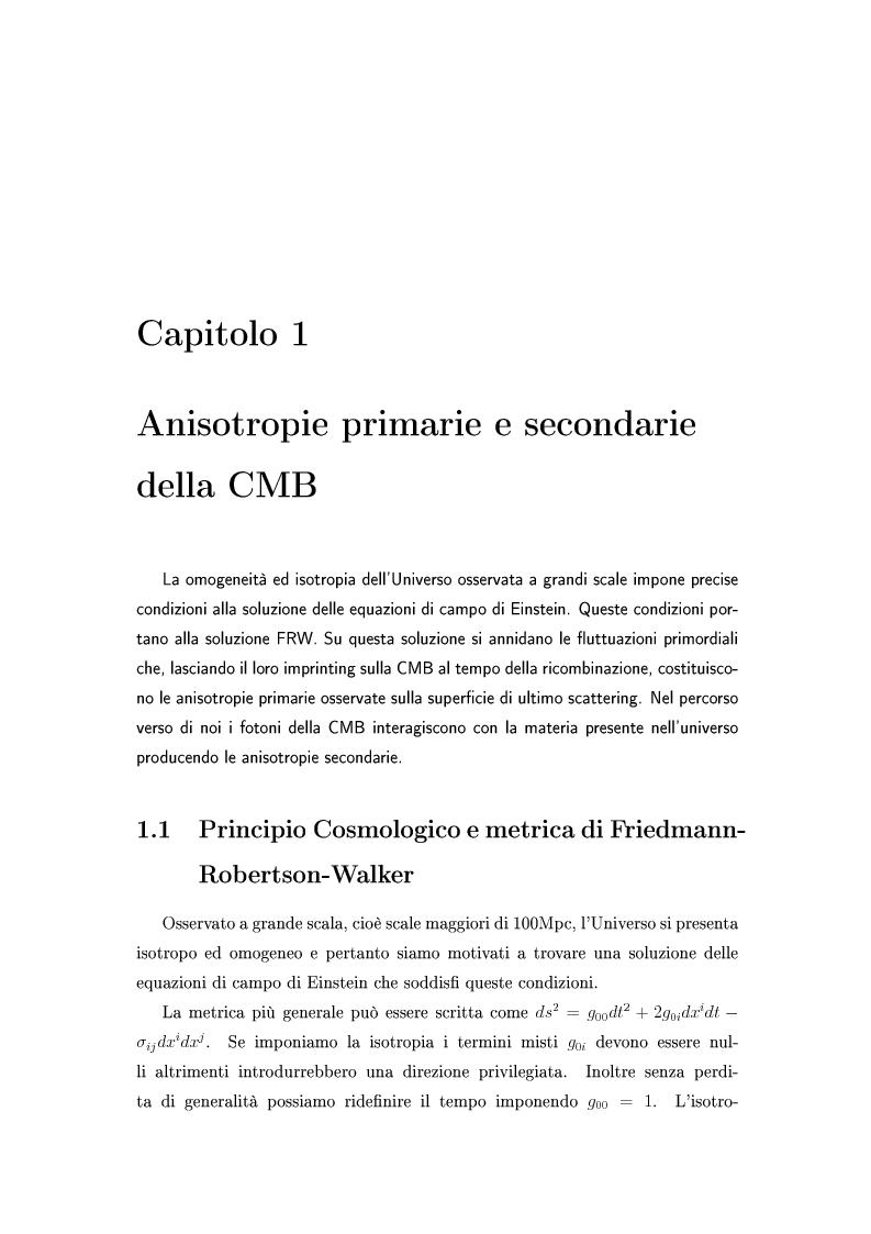 Anteprima della tesi: Cosmologia di precisione con l'Effetto Sunyaev-Zel'dovich, Pagina 2