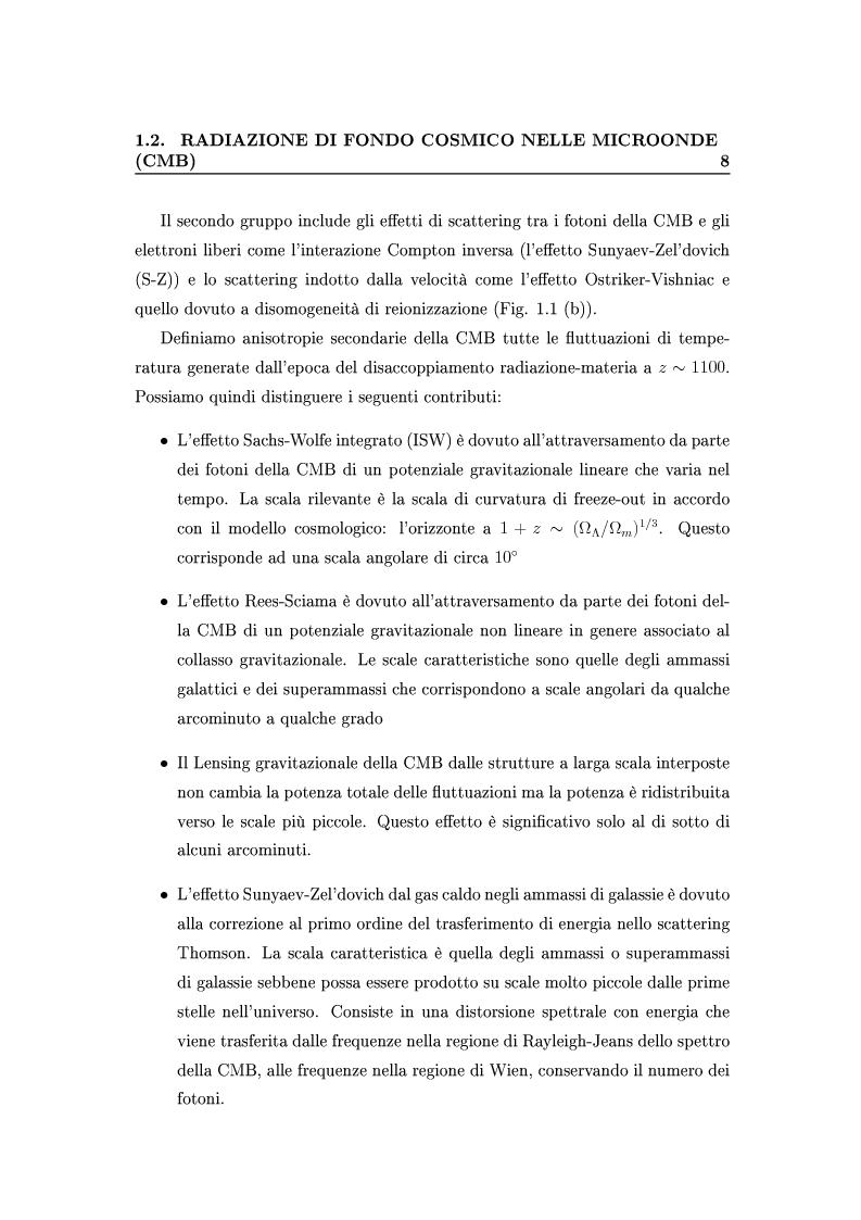 Anteprima della tesi: Cosmologia di precisione con l'Effetto Sunyaev-Zel'dovich, Pagina 5
