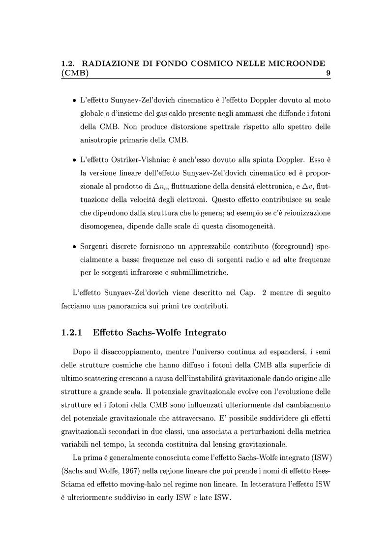 Anteprima della tesi: Cosmologia di precisione con l'Effetto Sunyaev-Zel'dovich, Pagina 6