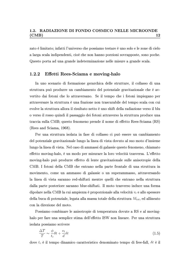 Anteprima della tesi: Cosmologia di precisione con l'Effetto Sunyaev-Zel'dovich, Pagina 9