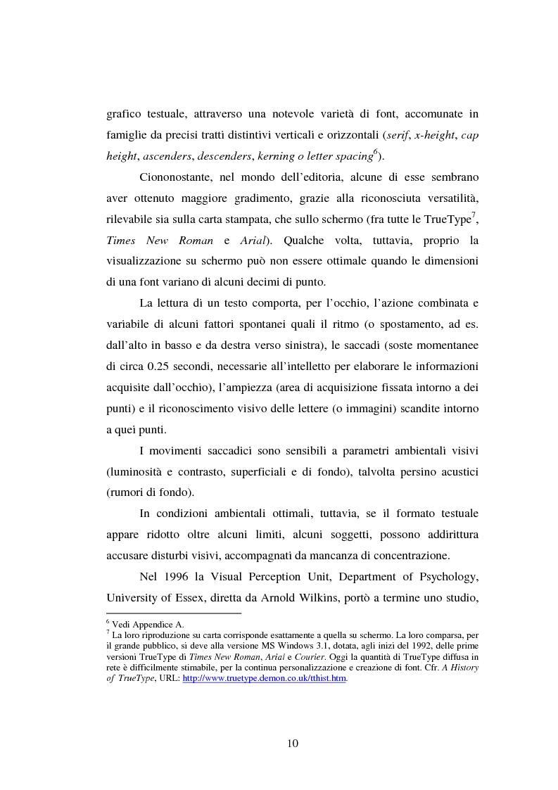 Anteprima della tesi: Comunicazione Scientifica, Leggibilità, Divulgazione, Pagina 11