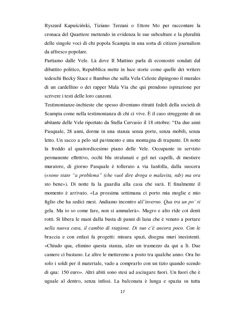 Anteprima della tesi: Mosaico Scampia: tra rappresentazioni mediali e lo sguardo degli abitanti sul proprio quartiere, Pagina 12