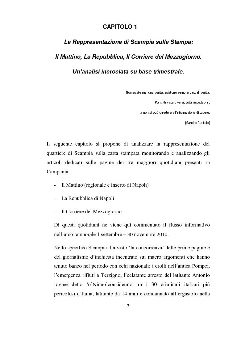 Anteprima della tesi: Mosaico Scampia: tra rappresentazioni mediali e lo sguardo degli abitanti sul proprio quartiere, Pagina 2