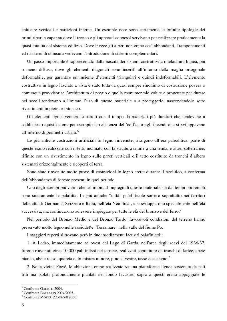 Anteprima della tesi: L'uso del legno nell'architettura residenziale bassomedievale: il caso di Padova, Pagina 5