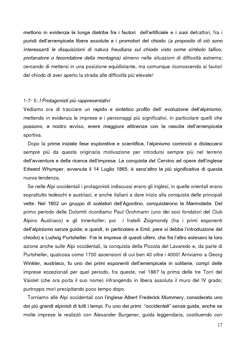 Anteprima della tesi: La Forza nell'Arrampicata Sportiva, Pagina 14