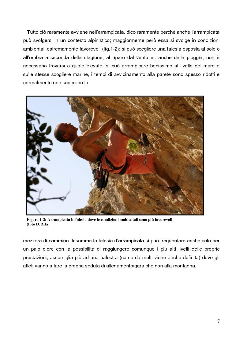 Anteprima della tesi: La Forza nell'Arrampicata Sportiva, Pagina 4