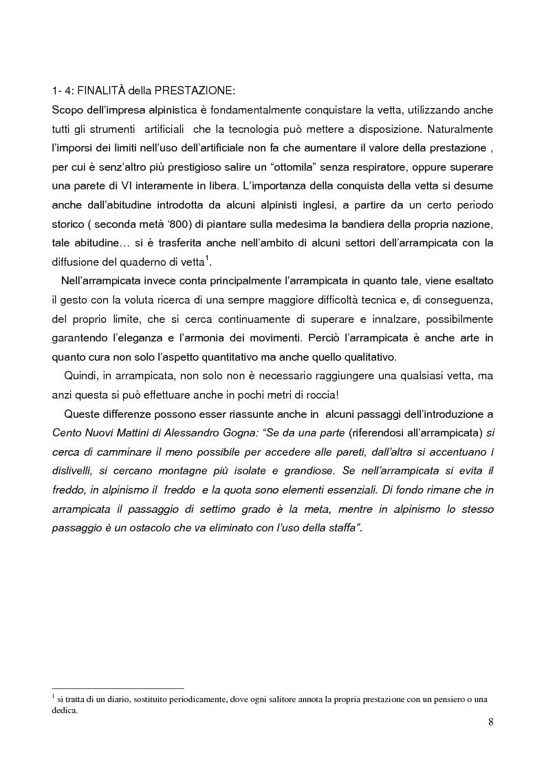 Anteprima della tesi: La Forza nell'Arrampicata Sportiva, Pagina 5