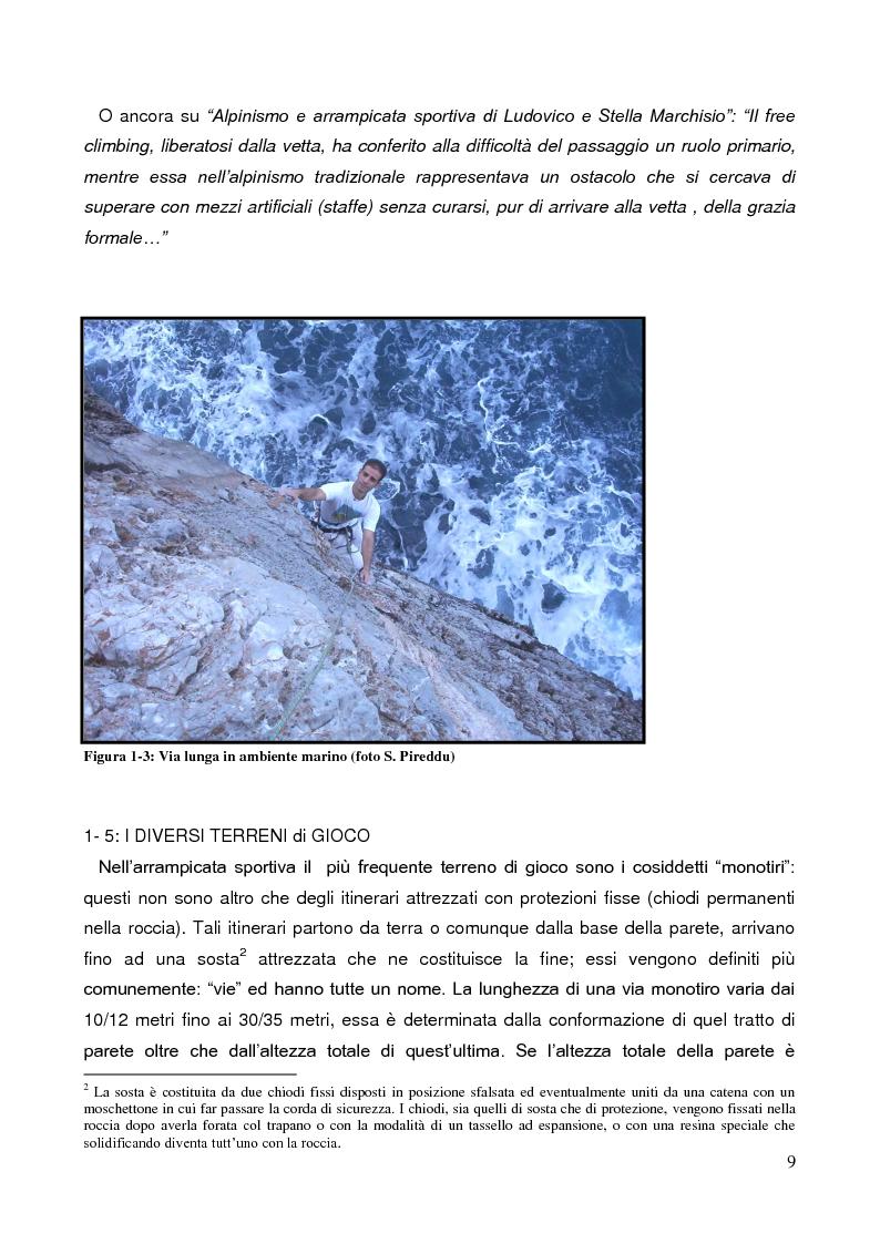 Anteprima della tesi: La Forza nell'Arrampicata Sportiva, Pagina 6