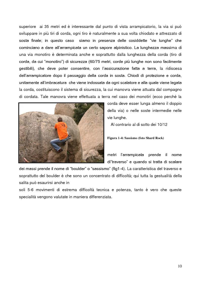 Anteprima della tesi: La Forza nell'Arrampicata Sportiva, Pagina 7