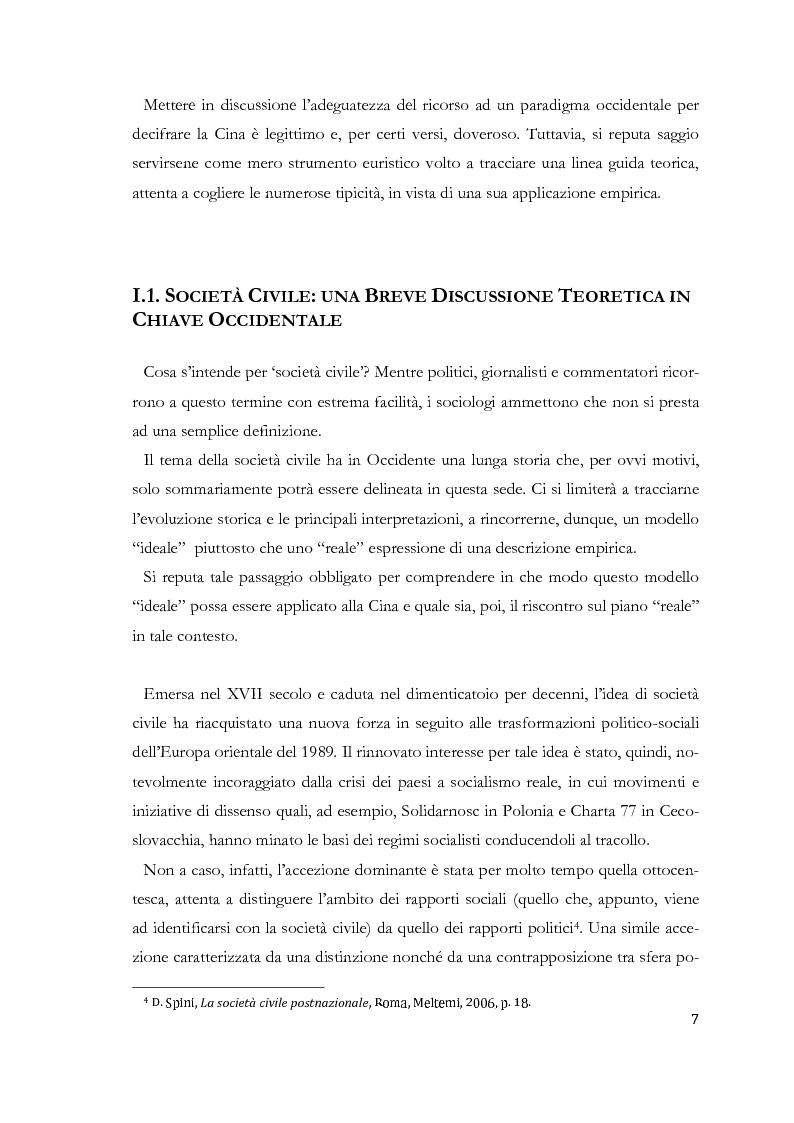 Anteprima della tesi: Prospettive di società civile cinese. Le Organizzazioni Non-Governative nella Cina Contemporanea., Pagina 3