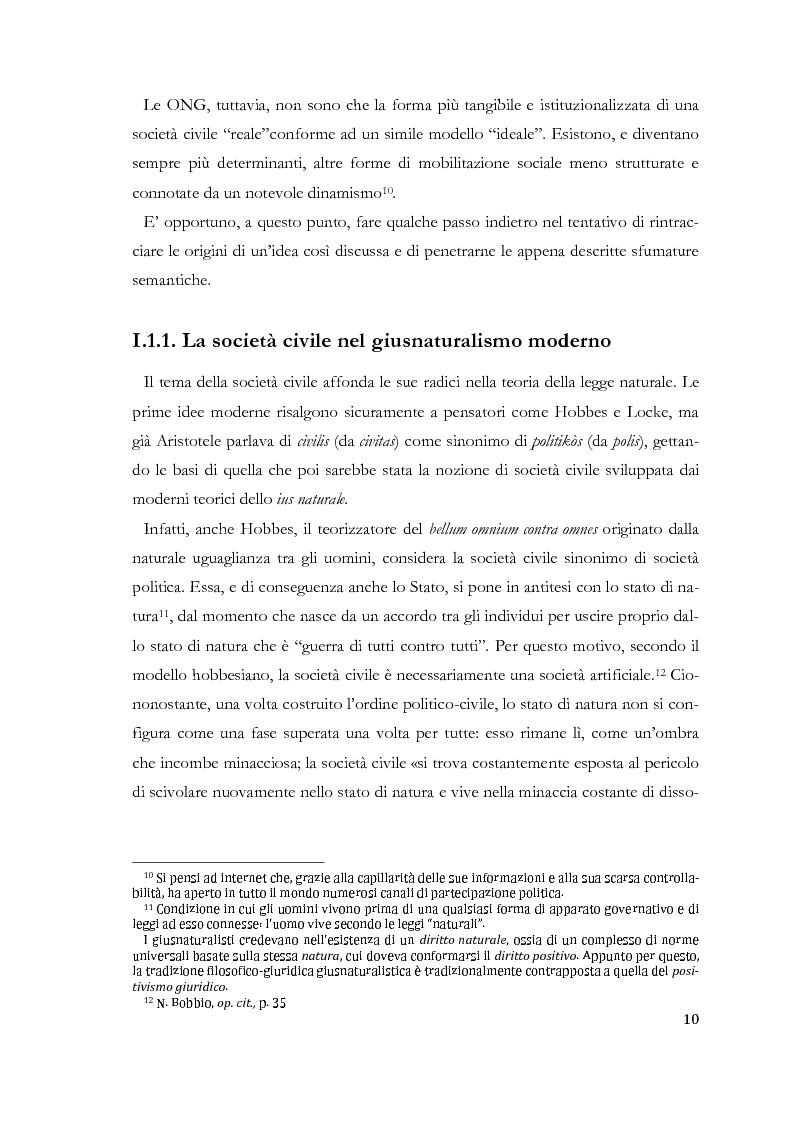 Anteprima della tesi: Prospettive di società civile cinese. Le Organizzazioni Non-Governative nella Cina Contemporanea., Pagina 6