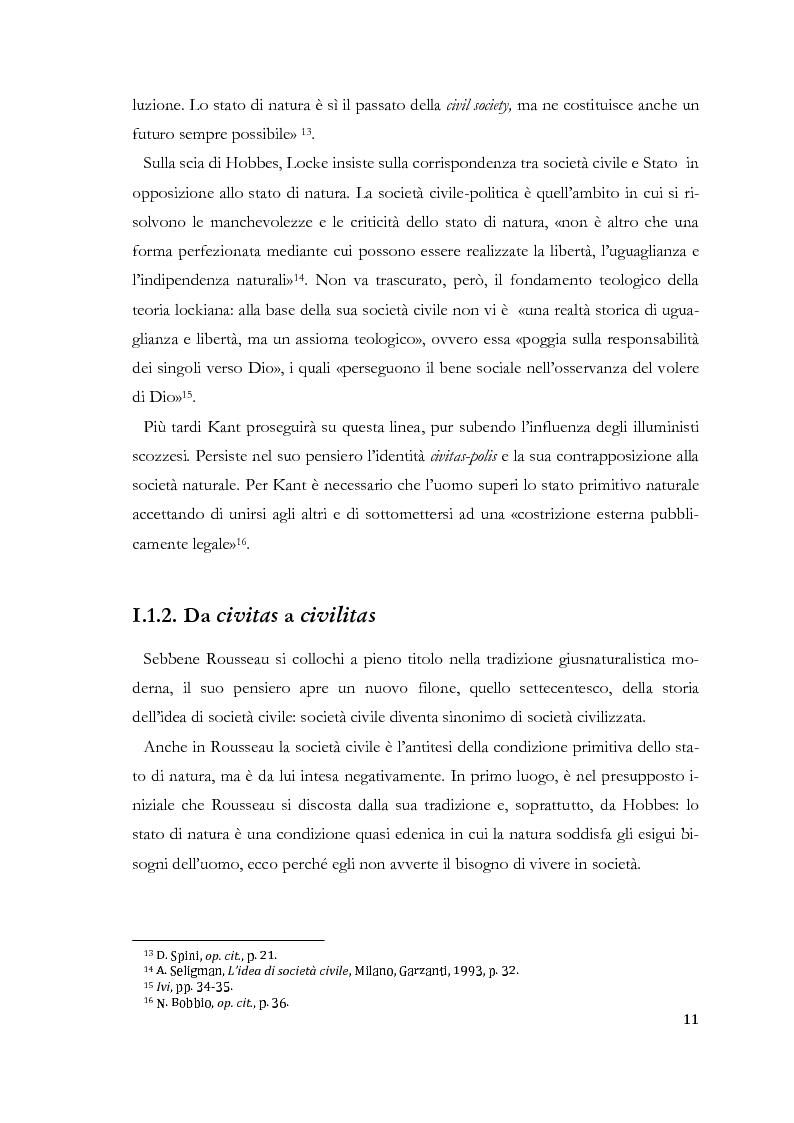 Anteprima della tesi: Prospettive di società civile cinese. Le Organizzazioni Non-Governative nella Cina Contemporanea., Pagina 7