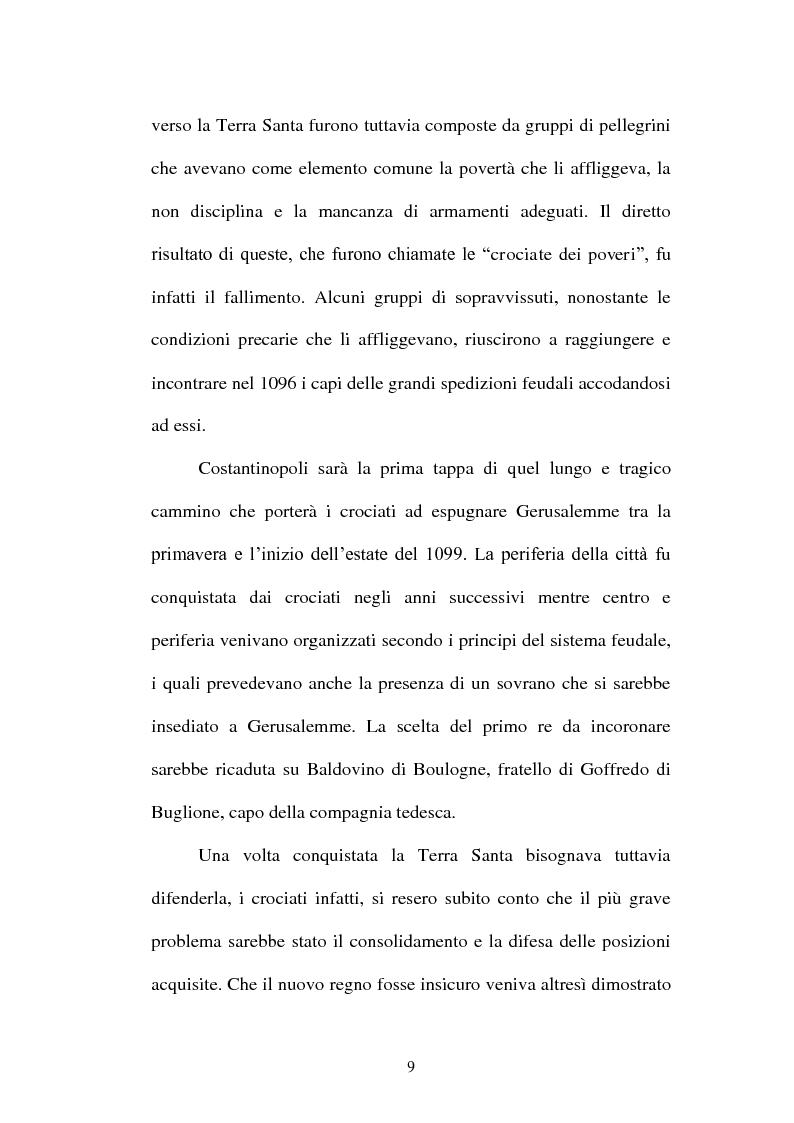 Anteprima della tesi: I Templari tra Storia e Mito, Pagina 7