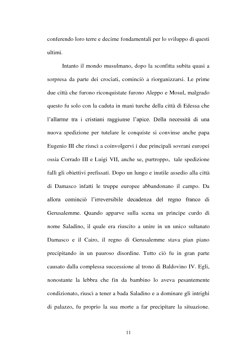 Anteprima della tesi: I Templari tra Storia e Mito, Pagina 9