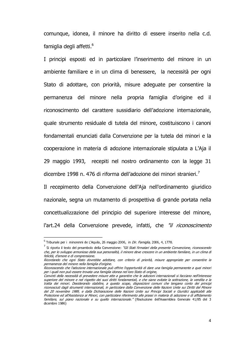 Anteprima della tesi: Il diritto all'identità personale: l'accesso alle informazioni genetiche ed il principio di veridicità degli atti dello stato civile., Pagina 5
