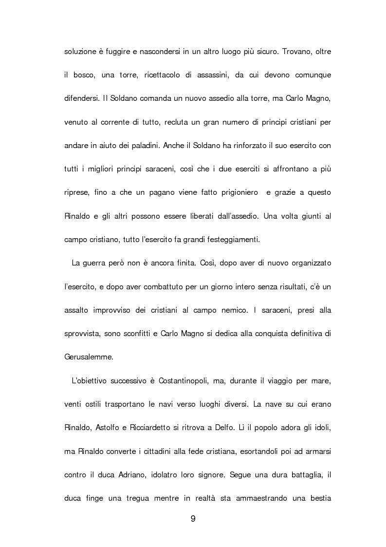 Anteprima della tesi: Un poema cavalleresco in sesta rima: Il libro d'arme e d'amore chiamato ''Leandra'' di Pietro Durante da Gualdo, Pagina 11
