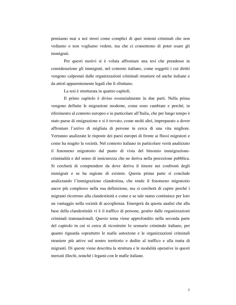 Anteprima della tesi: Criminalità organizzata e immigrazione, Pagina 3