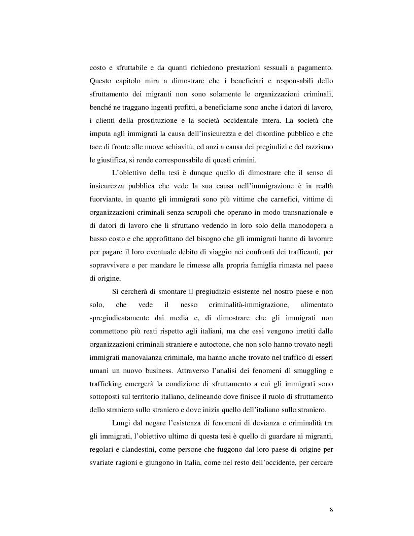 Anteprima della tesi: Criminalità organizzata e immigrazione, Pagina 6