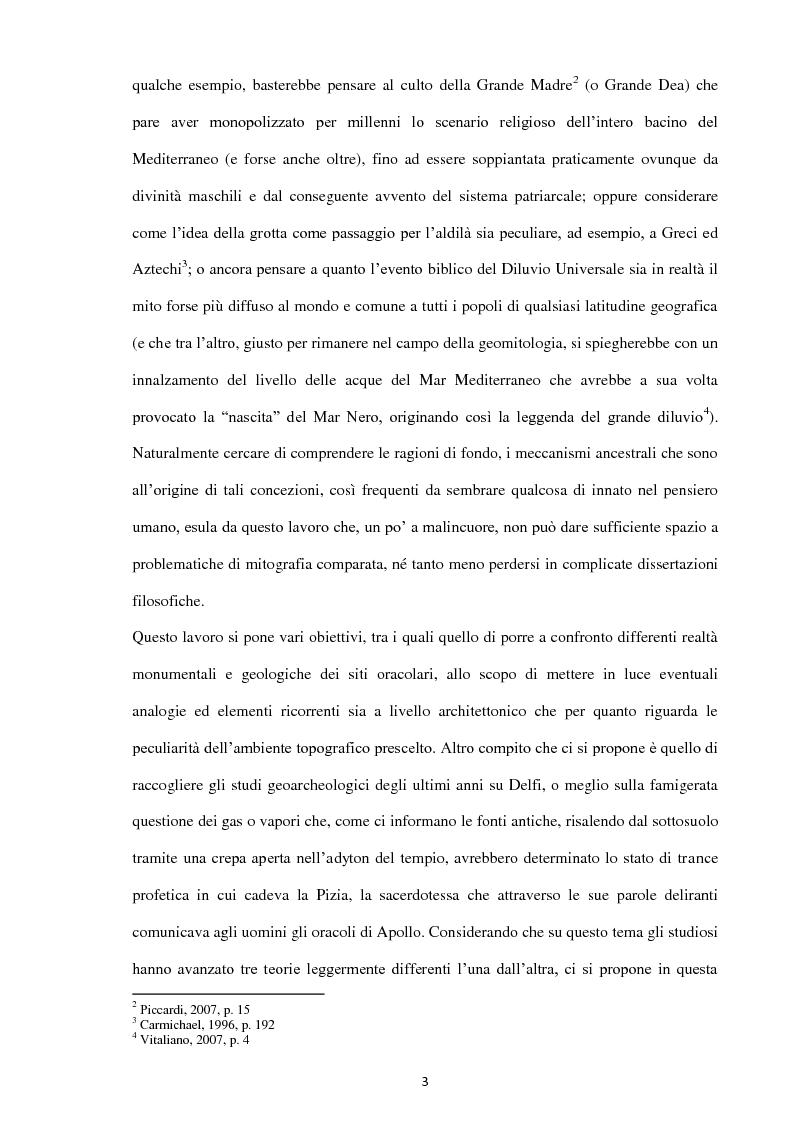 Anteprima della tesi: Geoarcheologia del santuari mantici, Pagina 4