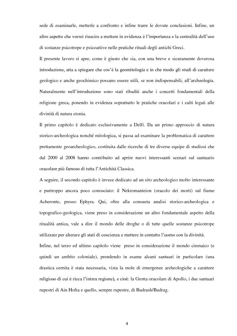 Anteprima della tesi: Geoarcheologia del santuari mantici, Pagina 5