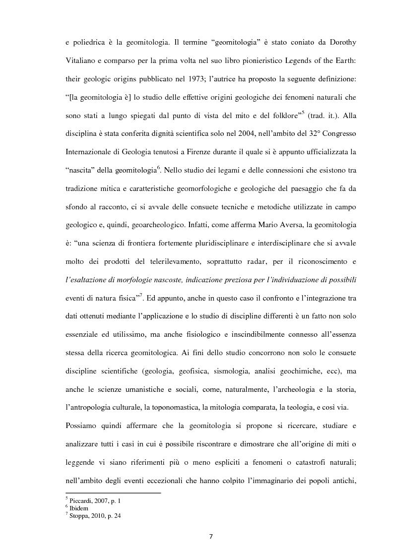 Anteprima della tesi: Geoarcheologia del santuari mantici, Pagina 8