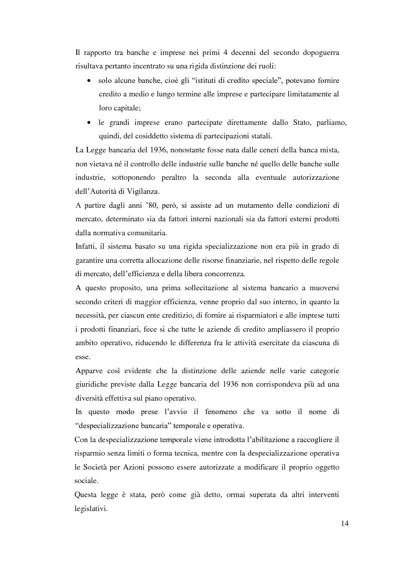 Anteprima della tesi: Il rapporto Banca e Impresa nel merito creditizio secondo i Principi di Basilea 2, Pagina 12