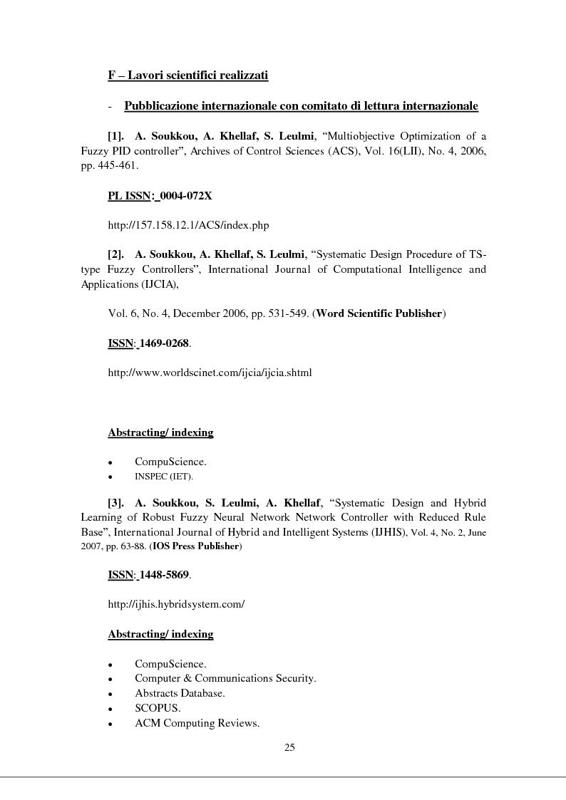 Anteprima della tesi: Modellizzazione & comando dei sistemi industriali complessi per mezzo delle tecniche intelligenti, Pagina 10