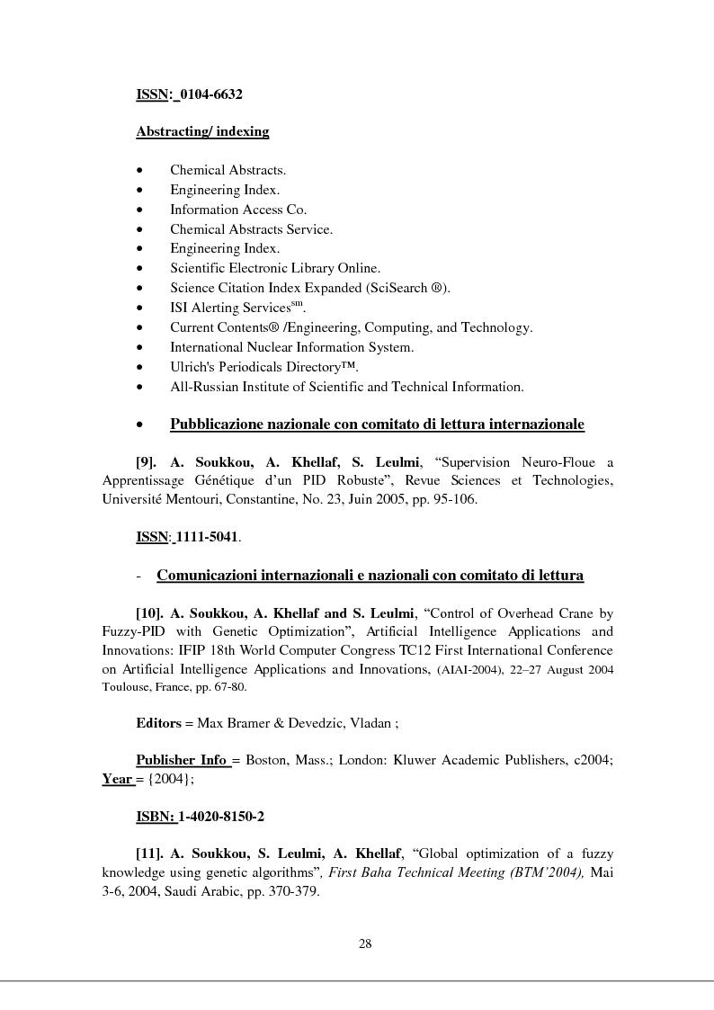 Anteprima della tesi: Modellizzazione & comando dei sistemi industriali complessi per mezzo delle tecniche intelligenti, Pagina 13