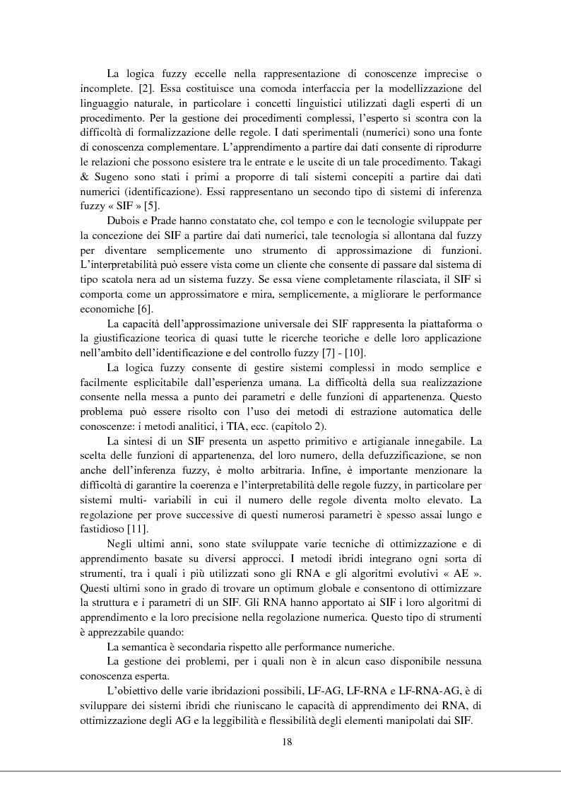 Anteprima della tesi: Modellizzazione & comando dei sistemi industriali complessi per mezzo delle tecniche intelligenti, Pagina 3