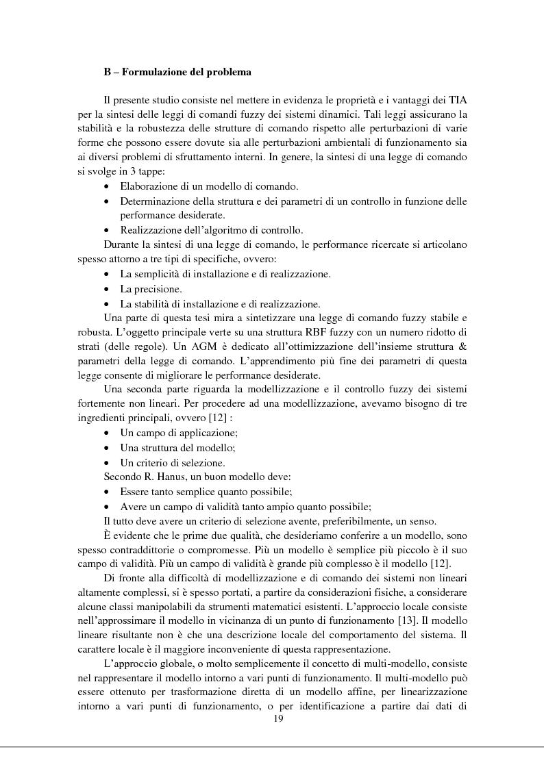 Anteprima della tesi: Modellizzazione & comando dei sistemi industriali complessi per mezzo delle tecniche intelligenti, Pagina 4