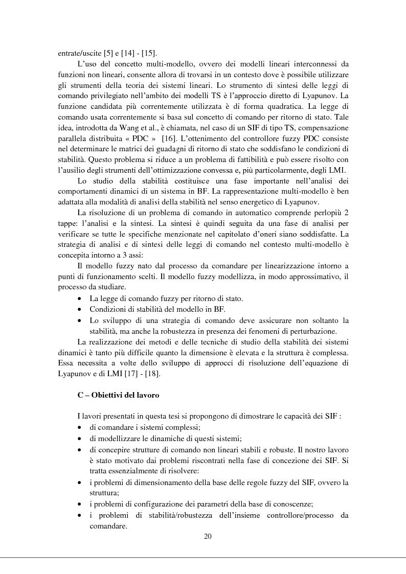 Anteprima della tesi: Modellizzazione & comando dei sistemi industriali complessi per mezzo delle tecniche intelligenti, Pagina 5