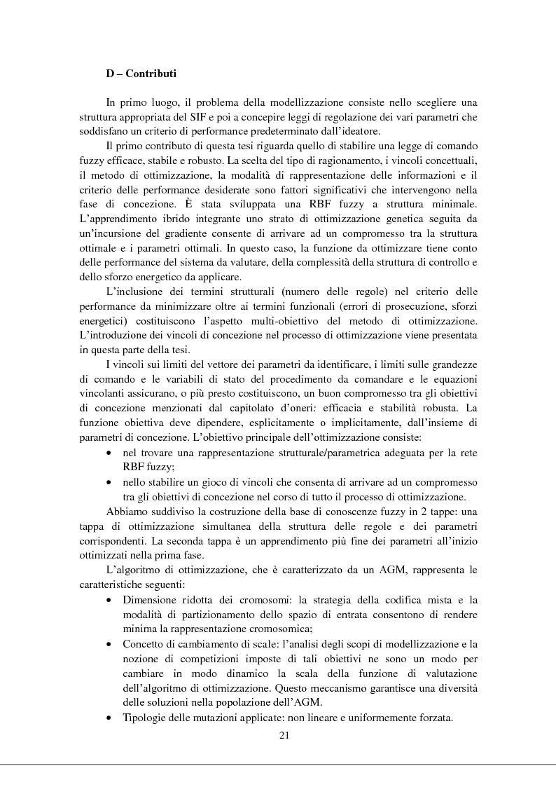 Anteprima della tesi: Modellizzazione & comando dei sistemi industriali complessi per mezzo delle tecniche intelligenti, Pagina 6