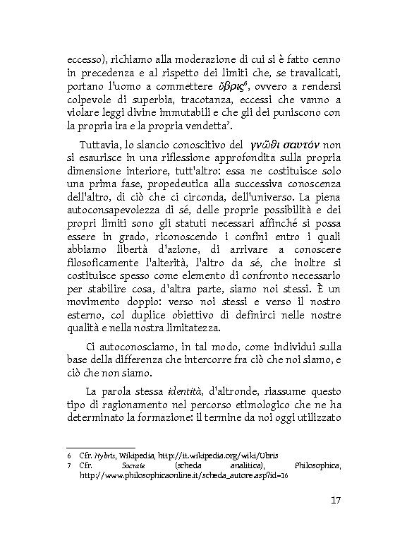 Anteprima della tesi: Identità extracorporee: al di fuori del proprio corpo, Pagina 12