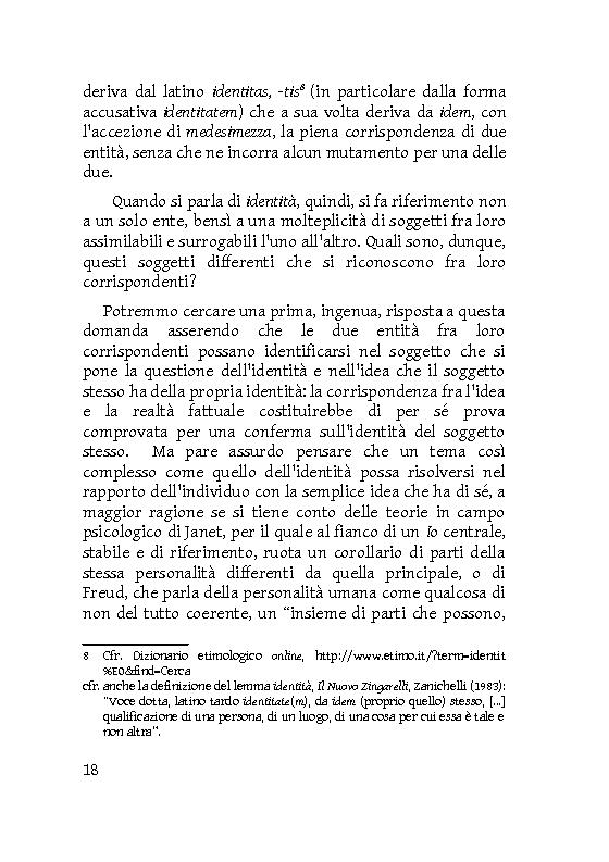 Anteprima della tesi: Identità extracorporee: al di fuori del proprio corpo, Pagina 13