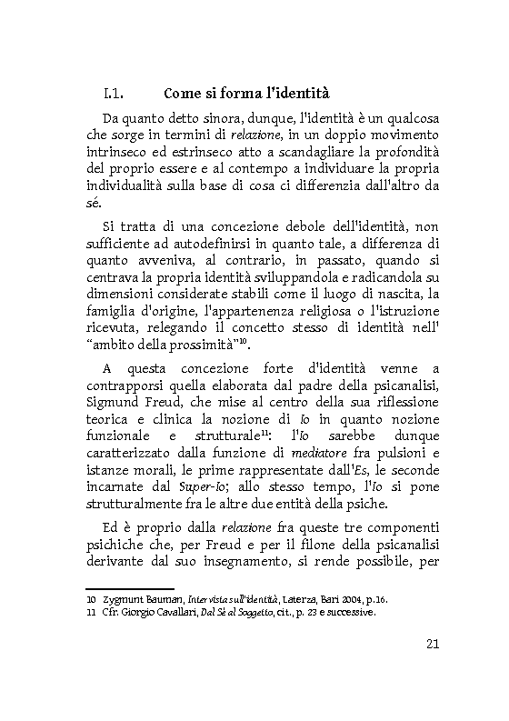 Anteprima della tesi: Identità extracorporee: al di fuori del proprio corpo, Pagina 16