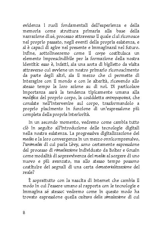 Anteprima della tesi: Identità extracorporee: al di fuori del proprio corpo, Pagina 3