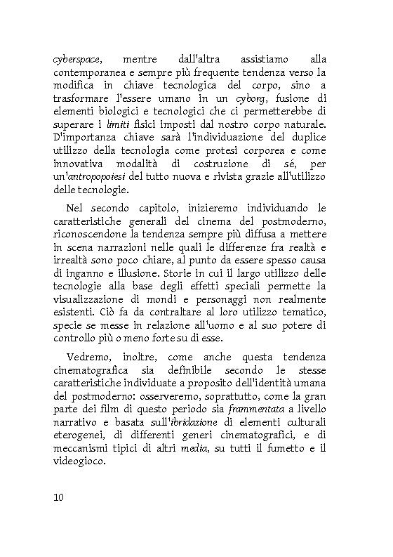 Anteprima della tesi: Identità extracorporee: al di fuori del proprio corpo, Pagina 5