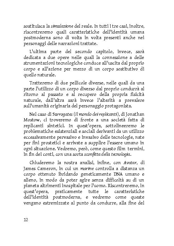 Anteprima della tesi: Identità extracorporee: al di fuori del proprio corpo, Pagina 7
