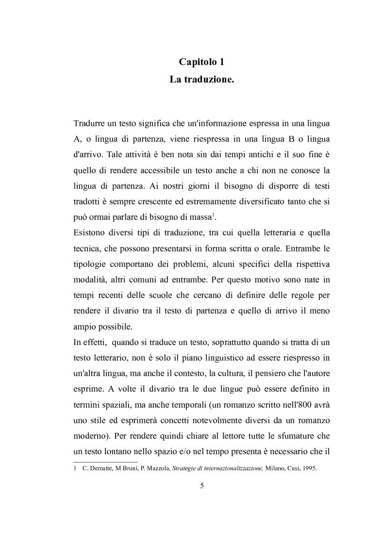 Anteprima della tesi: Parole, immagini e voci: il doppiaggio e la traduzione., Pagina 4