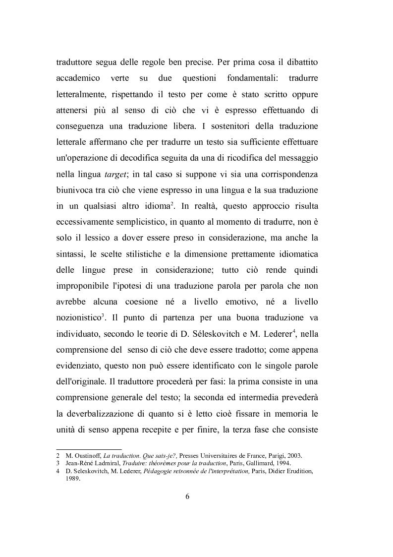 Anteprima della tesi: Parole, immagini e voci: il doppiaggio e la traduzione., Pagina 5