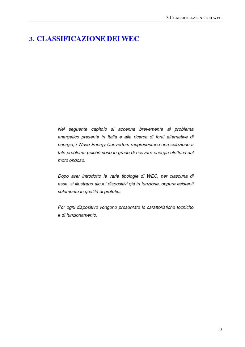 Anteprima della tesi: Modellazione numerica agli Elementi Finiti della dinamica del cavo elettrico di un convertitore di energia ondosa galleggiante, Pagina 8