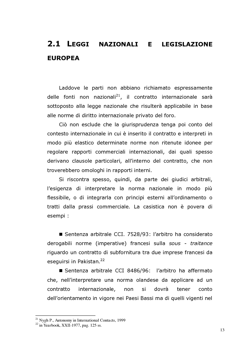 Anteprima della tesi: I Contratti Internazionali: Il Caso Seieffe - Company, Pagina 4
