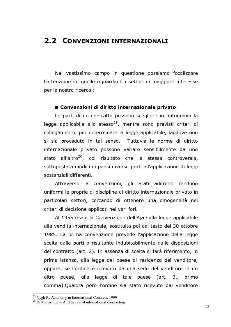 Anteprima della tesi: I Contratti Internazionali: Il Caso Seieffe - Company, Pagina 6